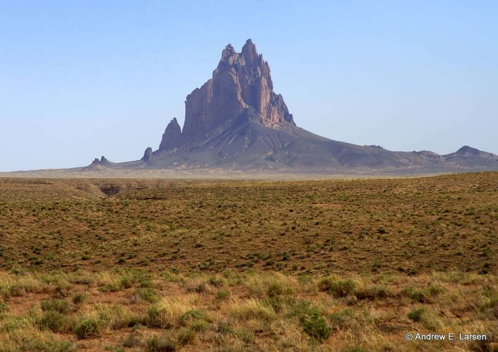 shiprock new mexico - Must-See Bizarre Places Around the World