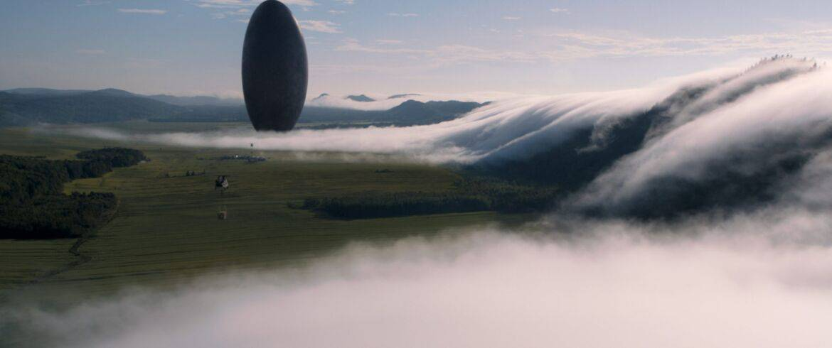 A scene from the film ARRIVAL by Paramount Pictures
