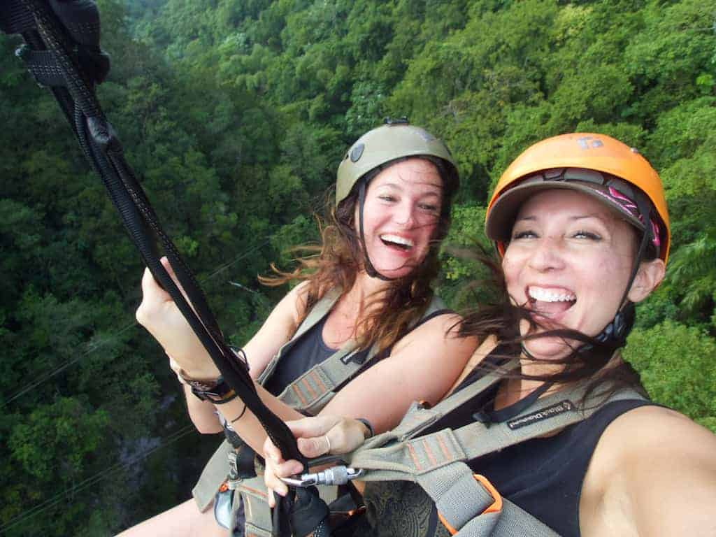 zip line - 2015 Reflection: Taking chances on yourself